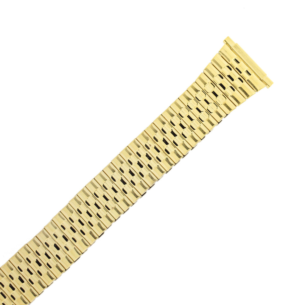 Expansion Metal Stretch Gold Plated Watch Band