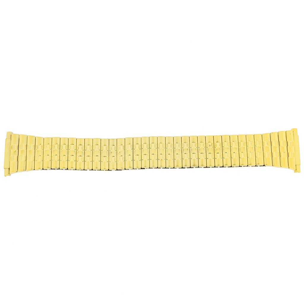 Watch Band Expansion Metal Stretch Gold Plated 16mm-20mm