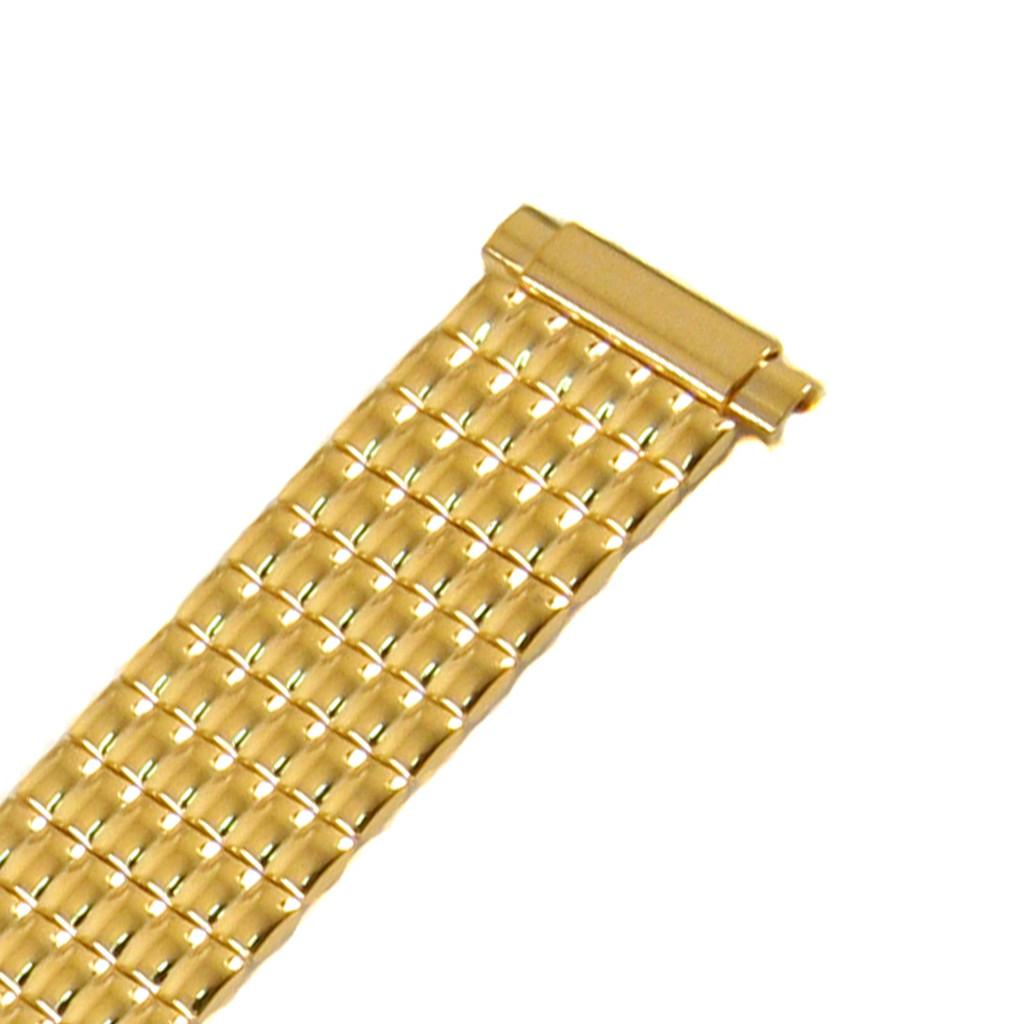 Womens Stretch Watch Band Gold Tone TSMET190