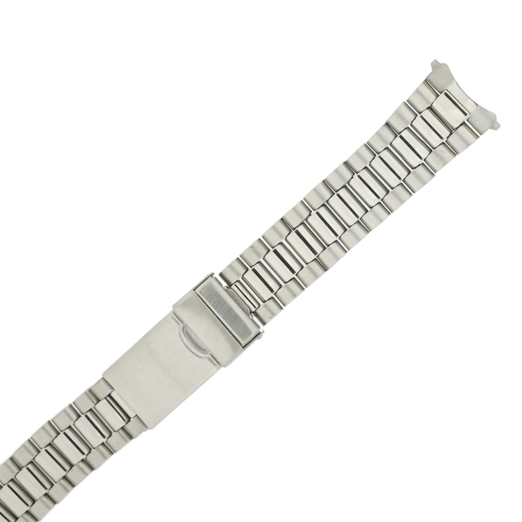 Watch Band Oyster Style Link Metal Stainless Steel