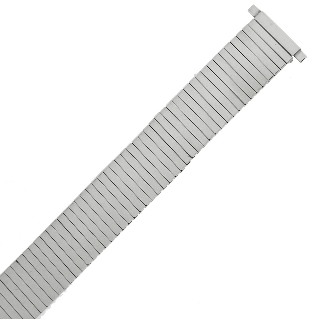Watch Band Expansion Metal Stretch Silver Color