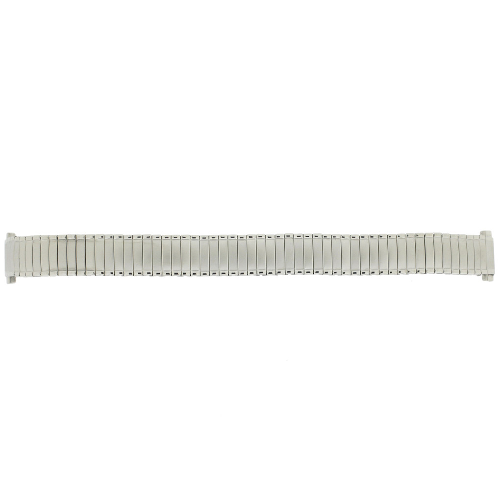 Watch Band Expansion Ladies Silver-Tone 12mm- 14mm
