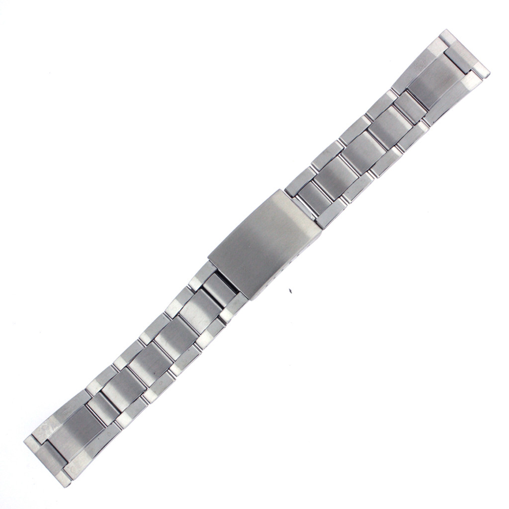 Oyster Style Metal Link Stainless Steel Watch Band