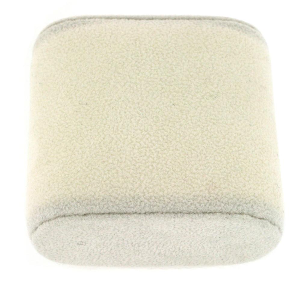 Large Beige Watch Cushion | Beige Watch Pillow | TechSwiss | Side
