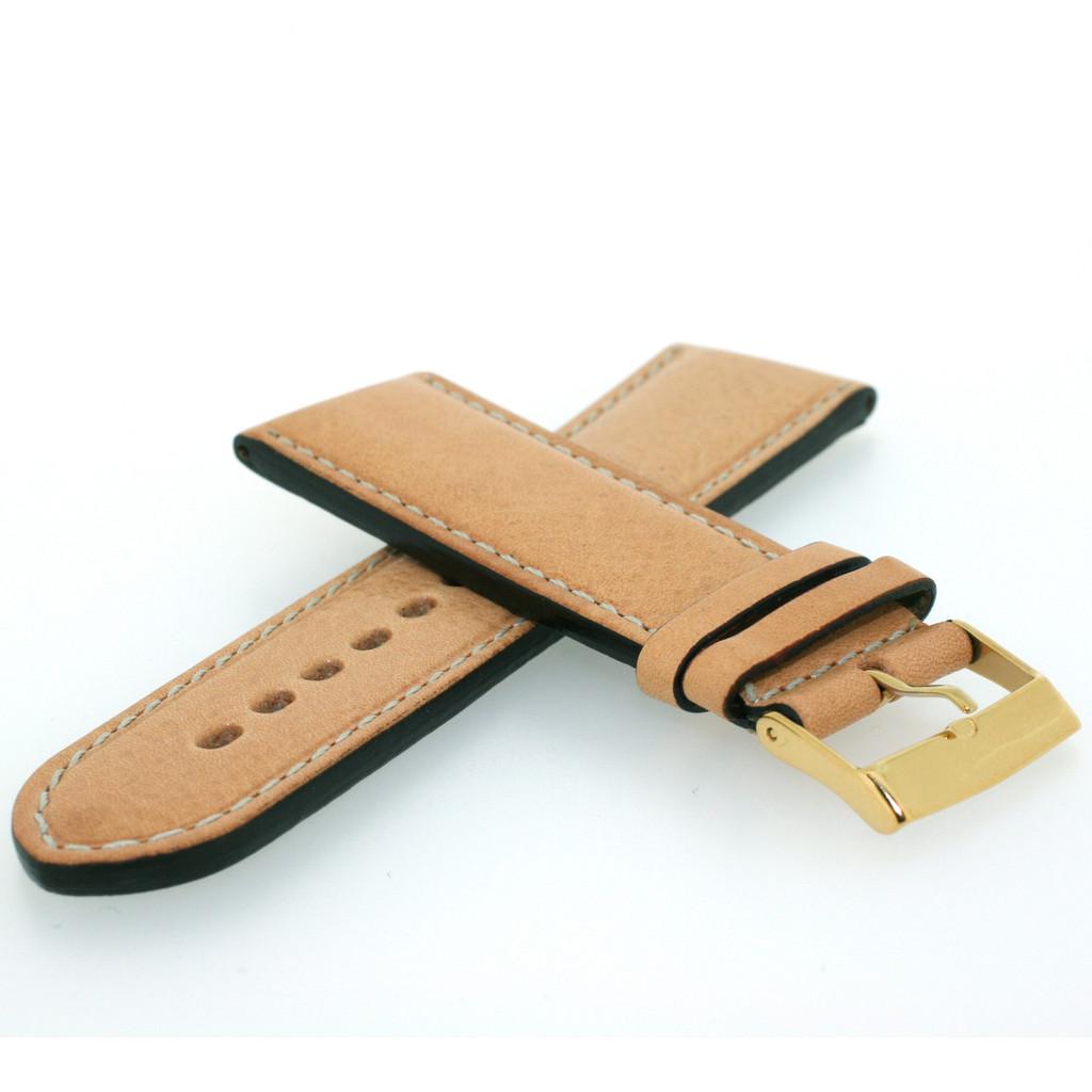 Bone Leather Watch Band LEA1363