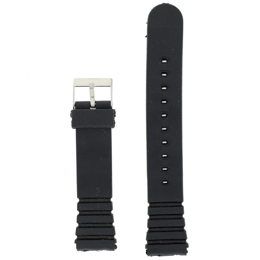 18mm Watch Band Replacement Rubber PLABAN-4