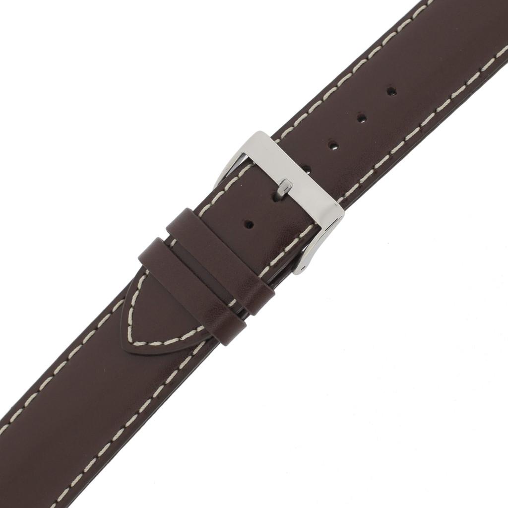 Mens Water Resistant Brown Watch Band Waterproof LEA477