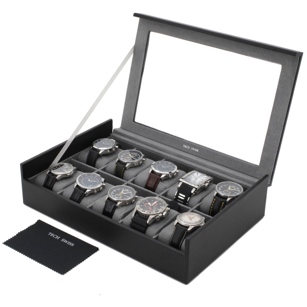 Carbon Fiber Watch Box | TechSwiss TS700CF | Main