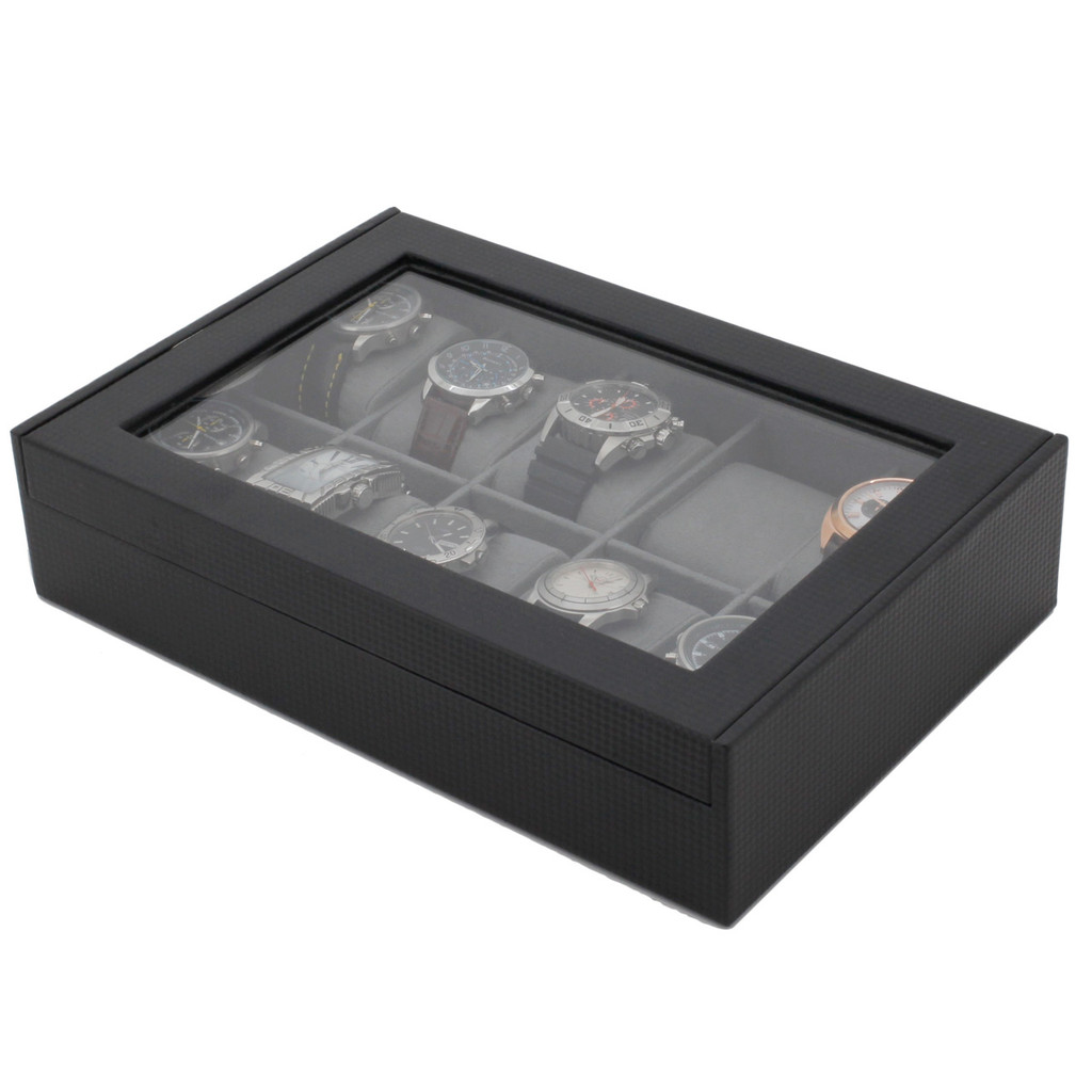 Carbon Fiber Watch Box | TechSwiss TS700CF | Photo Full