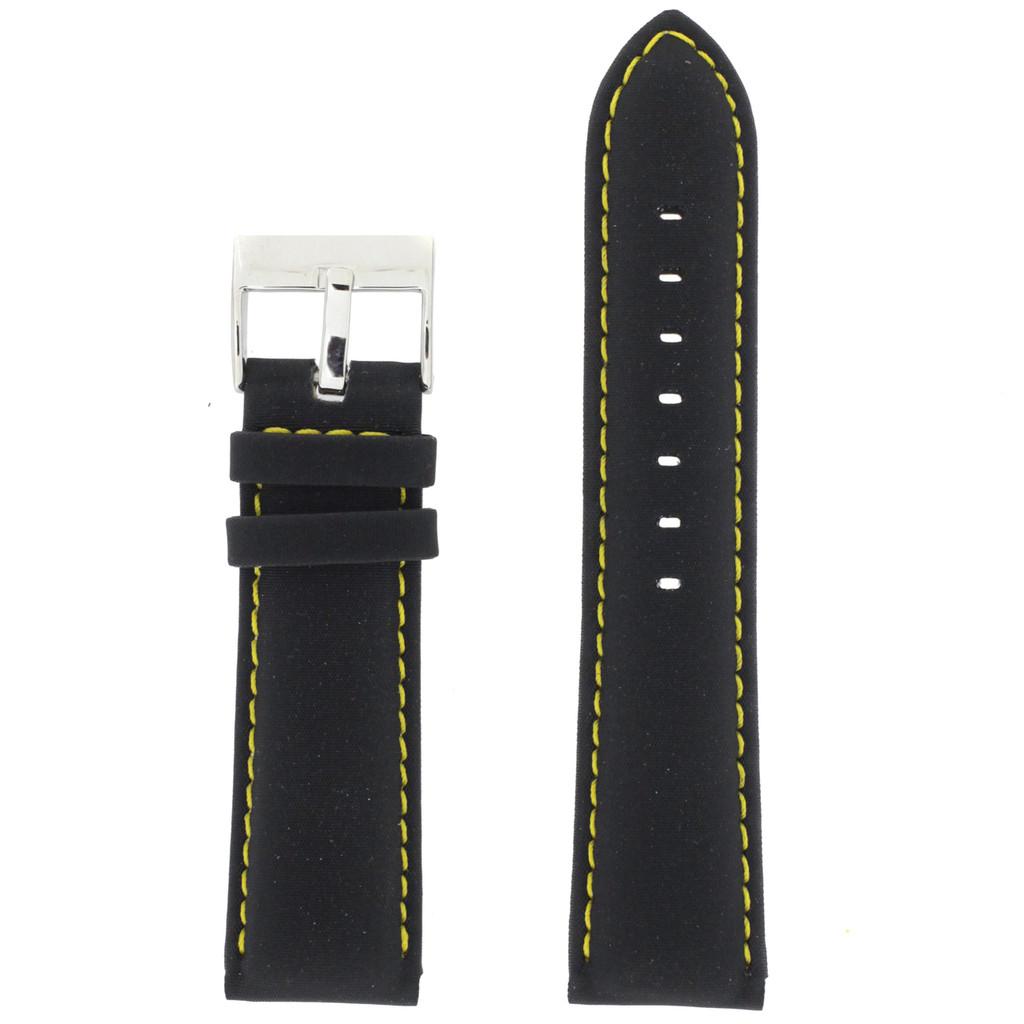 Main Nylon black Watch Band LEA629