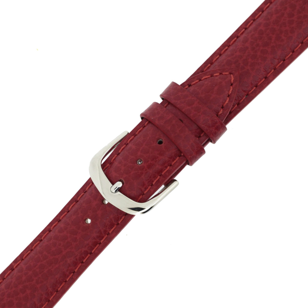 Elegant Leather Watch Band | TechSwiss LEA351 | Buckle