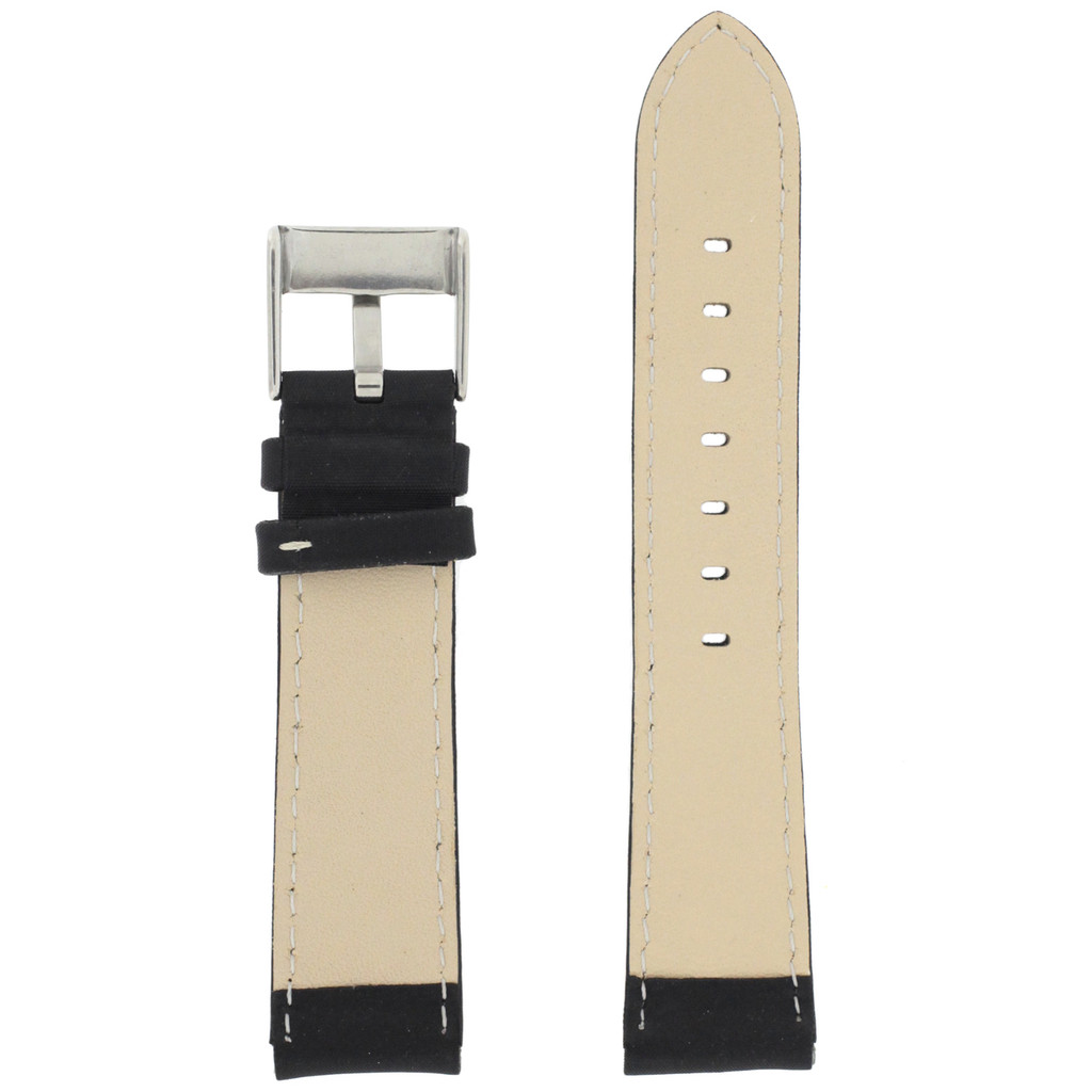 Inside Nylon black Watch Band LEA622
