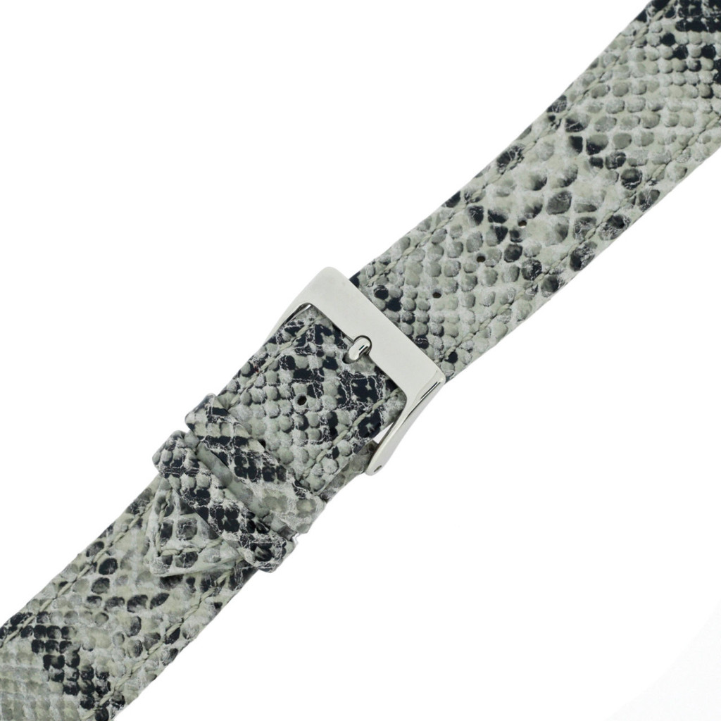 Snake Watch Band Leather | TechSwiss LEA1124 | Buckled
