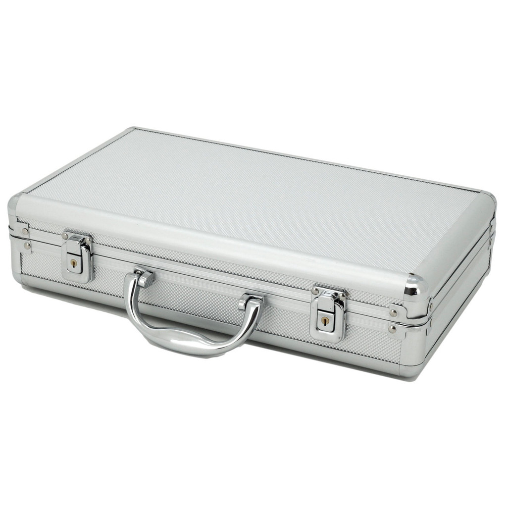 Aluminum Watch Box - Store 12 Watches | TechSwiss | Closed View