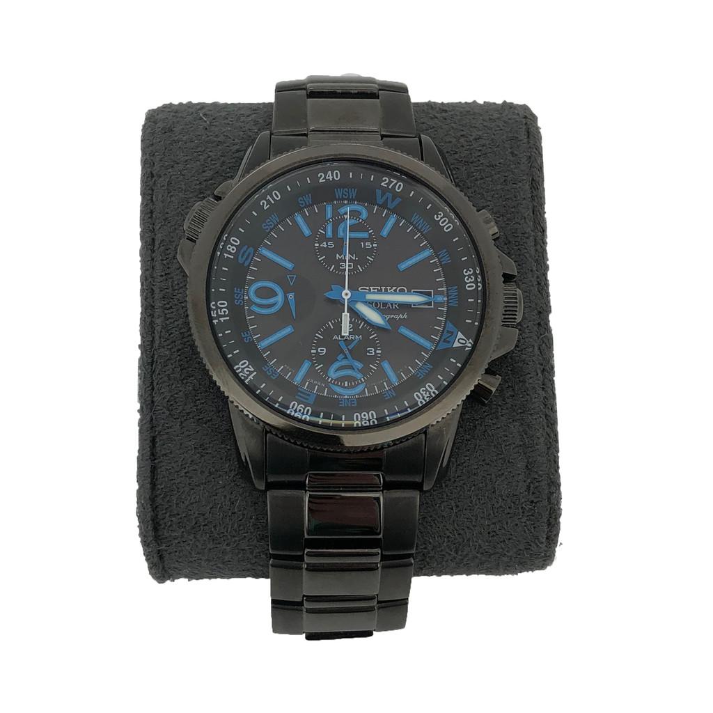 Large Grey Watch Cushion | Grey Watch Pillow | TechSwiss | Side