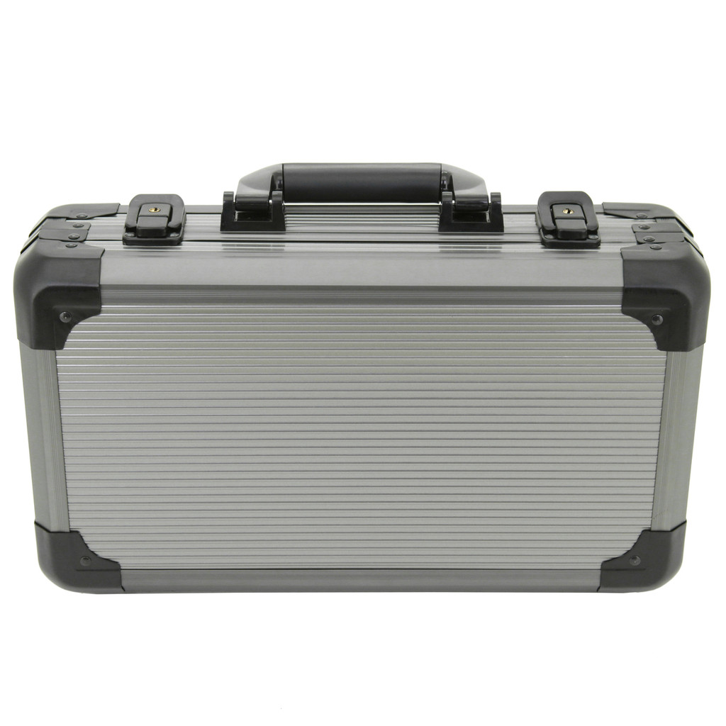 aluminum box for watches fit 12 watches up to Fits Cases up to 58mm front