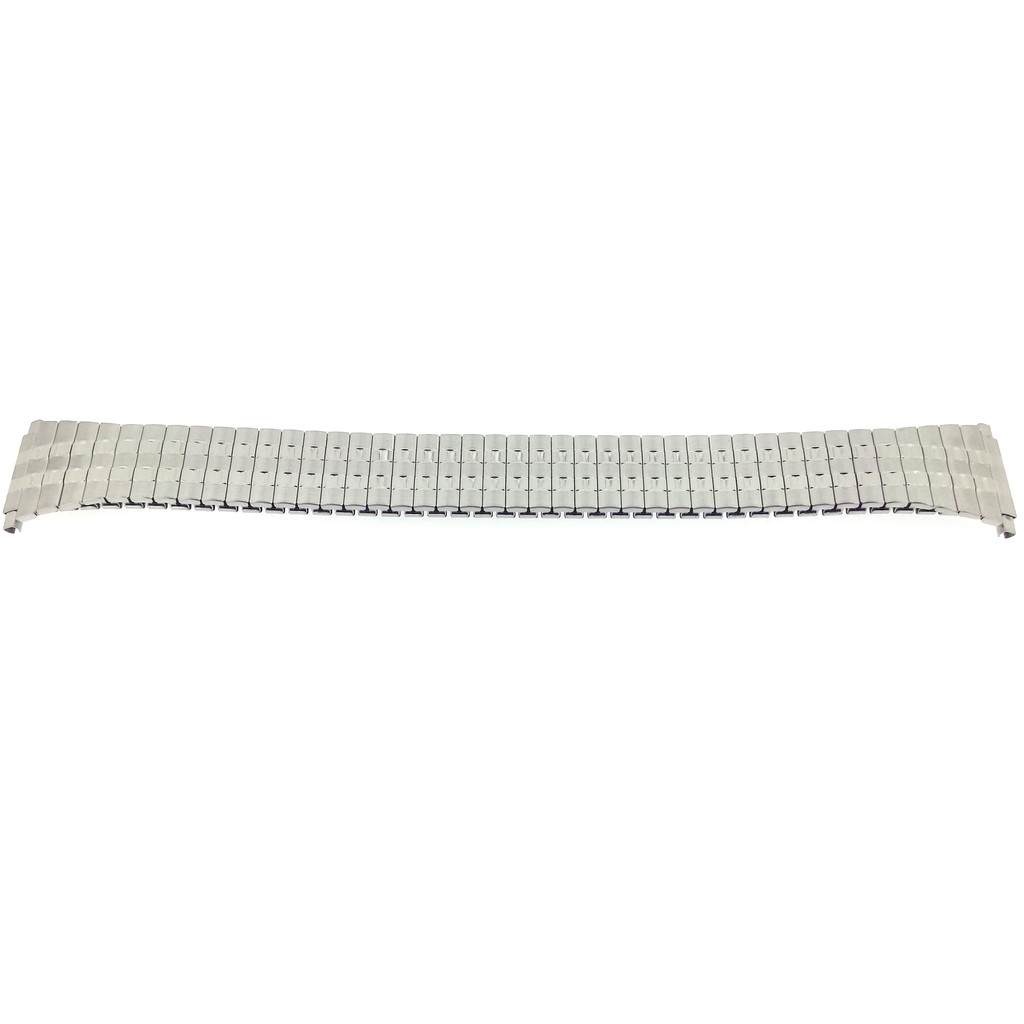 XL Stretch Watch Band Expansion Extra Long Stainless Steel Metal Mens 16mm-20mm