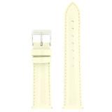 Cream Beige Patent Leather Watch Band | Cream Glossy Watch Strap | Cream Watch Band | Italian Calfskin | LEA407 | Main
