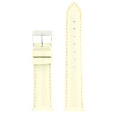 Cream Beige Patent Leather Watch Band | Cream Glossy Watch Strap | Cream Watch Band | Italian Calfskin | LEA407 | Main