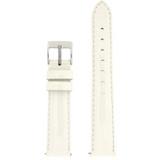 White Watch Band Patent Leather Watch Band | Glossy Watch Strap | Ladies White Watch Band | Italian Calfskin | LEA408 | Main