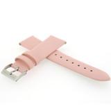 Pink Watch Band Satin Leather Watch Band | Watch Strap | Pink Watch Band | Italian Calfskin | LEA411 | Back