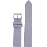 Purple Watch Band Satin Leather Watch Band | Watch Strap | Lavender Watch Band | Italian Calfskin | LEA409 | Main