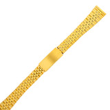 Ladies Metal Watch Band Gold one