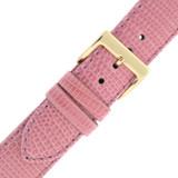 Pink GENUINE Lizard Watch Band 12mm -22mm