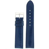 Padded Watch Band in Blue Calfskin | Replacement Strap LEA483 | TechSwiss | Main