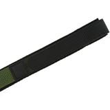 Olive Green Nylon Velcro Sport Watch Strap | TechSwiss VEL100G | Velcro