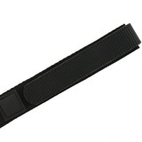 Black Velcro Watch Band | TechSwiss Black Velcro Watch Strap | VEL100BLK | Edge