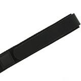 Black Velcro Watch Band | TechSwiss Black Velcro Watch Strap | VEL100BLK | Edge