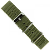Olive Green Watch Band | TechSwiss NYL300OLV | Main