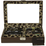 Eyeglass & Sunglass Case Open
