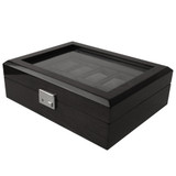 Back Watch Box with Removable Tray - Main View