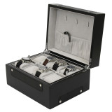 8 Watch Valet Large Compartments TSBOX8100CF