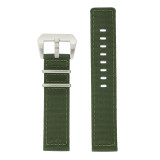 Extra Long Nylon Military Green Watch Band | TechSwiss LEA1583 | Main