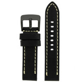 Thick Watch Band in Black Leather | Heavy Duty Straps | Main | TechSwiss LEA1557