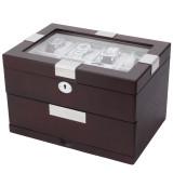 Cherry Watch Box | 16 Watch Storage Case | TechSwiss | Main