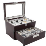 Cherry Watch Box | 16 Watch Storage Case | TechSwiss | Main