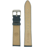Weathered Blue Leather Watch Band   TechSwiss LEA453   Interior