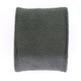 Large Plush Charcoal Grey Faux Suede Cushion TSCU-6A
