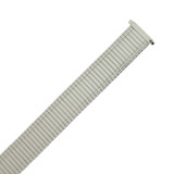 Watch Band Expansion Metal Stretch Silver Color & Thin Border