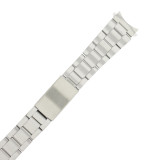 Oyster Style Stainless Steel Metal Watch Band