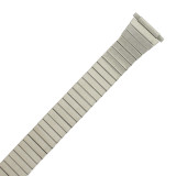 Men's Stretch Band Silver-tone MET163