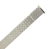 Watch Band Expansion Metal Stretch Silver Color 18mm-20mm