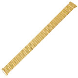 Ladies Stretch Watch Band Gold Tone TSMET190