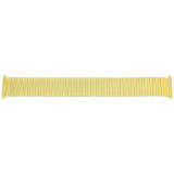 Watch Band Ladies Expansion Metal Stretch Gold-tone 12mm-14mm