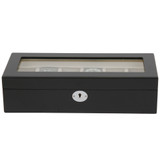 Watch Box Black Closed TSBOX6100BLACK