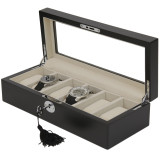 Watch Box Black Open TSBOX6100BLACK